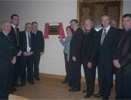 Official Opening in 2005 by Mary Keane