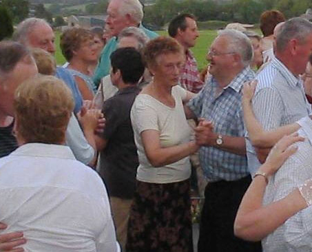 dancing in laharn cross